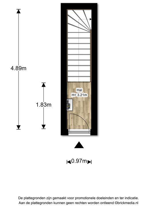 Voorhofstraat 8, Voorburg floorplan-0
