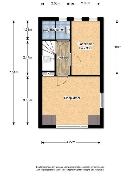 Voorhofstraat 8, Voorburg floorplan-2