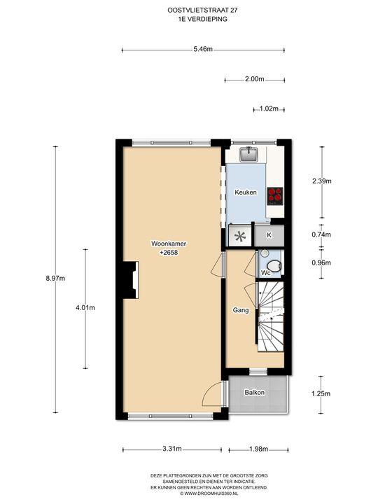 Oostvlietstraat 27, Voorburg floorplan-1