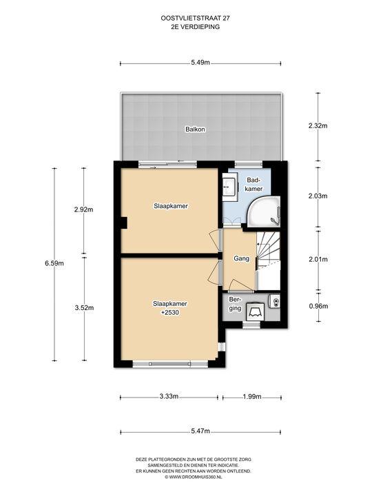 Oostvlietstraat 27, Voorburg floorplan-2