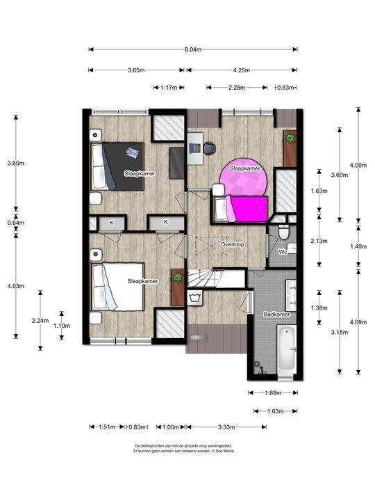 Laan van Nieuw Oosteinde 498, Voorburg floorplan-1