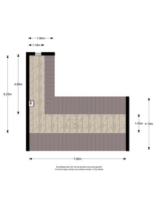 Laan van Nieuw Oosteinde 498, Voorburg floorplan-2