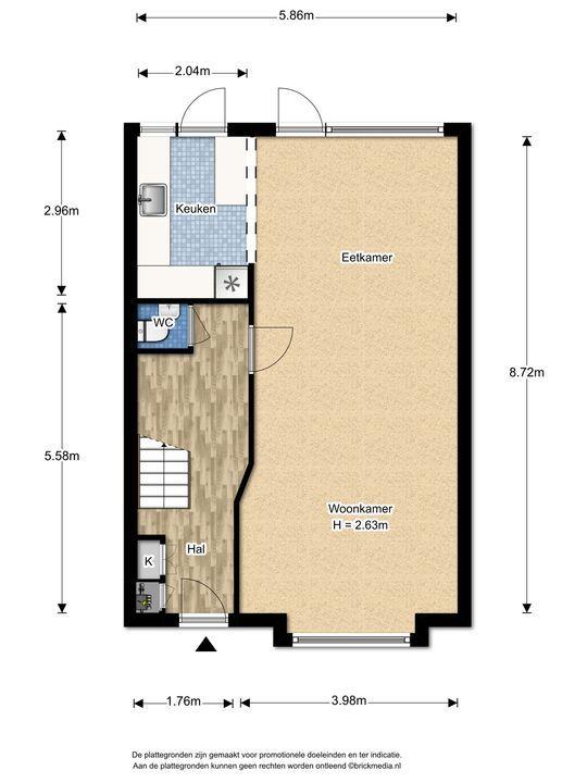 Mauvelaan 3, Leidschendam floorplan-0