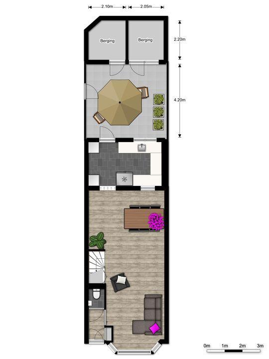 Mauritsstraat 1, Voorburg floorplan-2