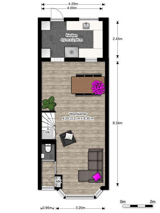 Mauritsstraat 1, Voorburg floorplan-0