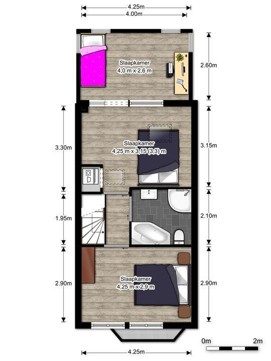 Mauritsstraat 1, Voorburg floorplan-1