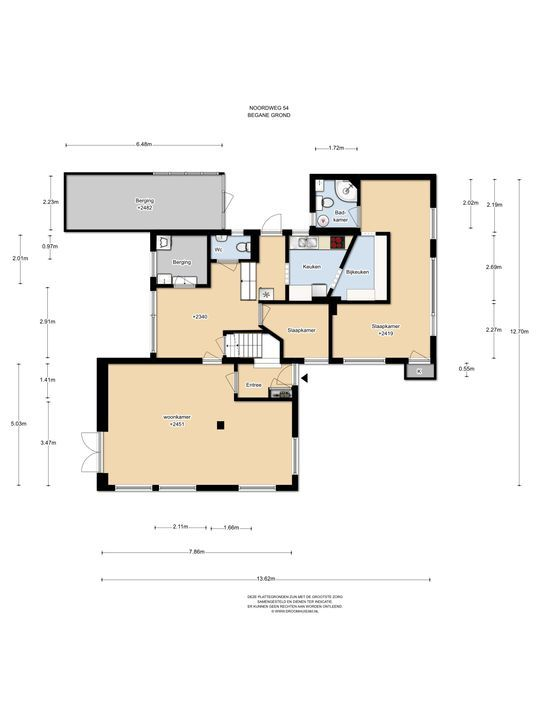 Noordweg 54, Den Haag floorplan-0