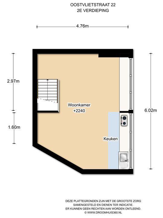 Oostvlietstraat 22, Voorburg floorplan-2