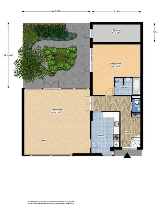 An Vellekoophof 1, Voorburg floorplan-0