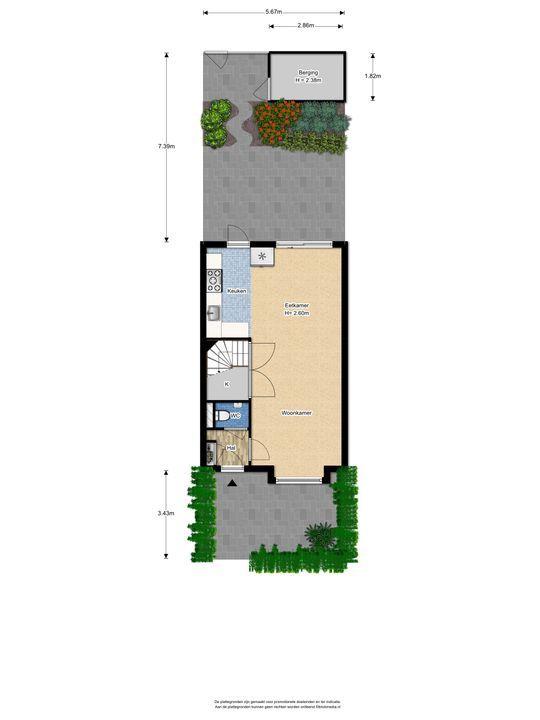 Biancaland 130, Den Haag floorplan-4