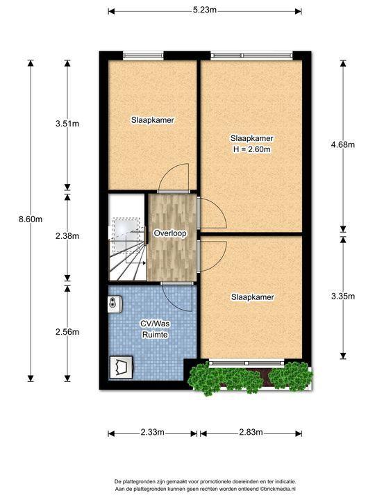 Biancaland 130, Den Haag floorplan-2