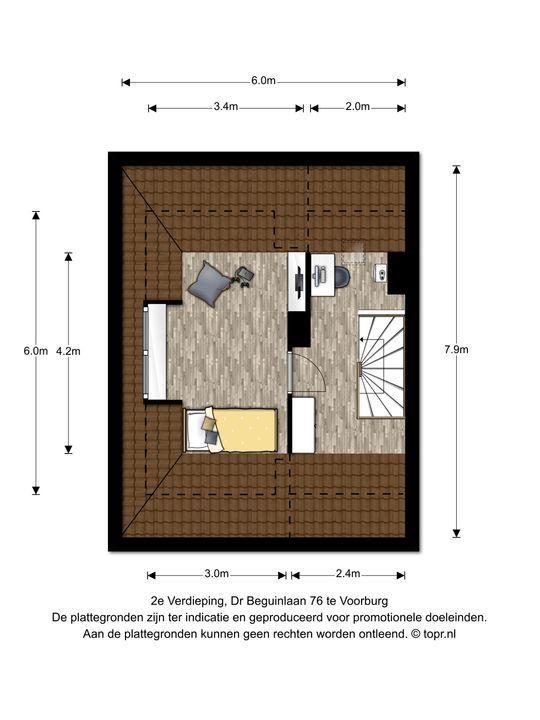 Dr Beguinlaan 76, Voorburg floorplan-2