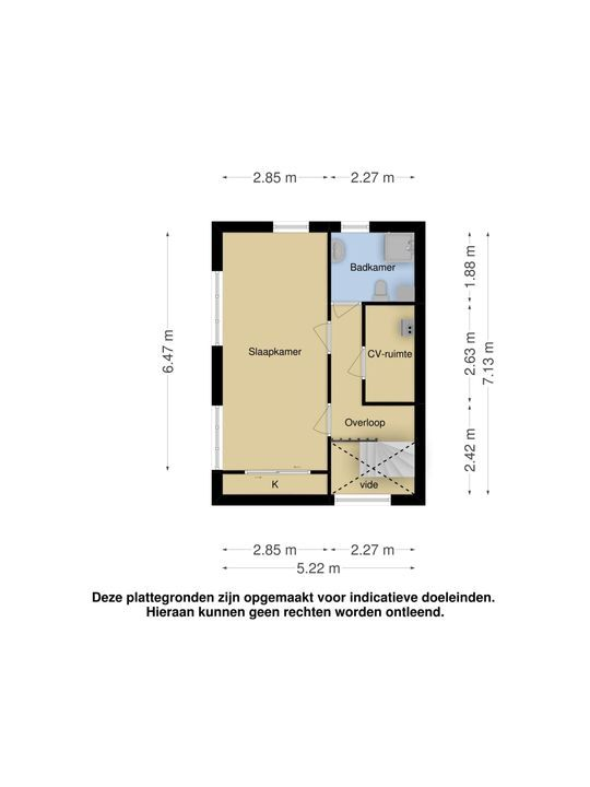An Vellekoophof 9, Voorburg floorplan-1
