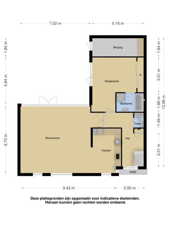 An Vellekoophof 9, Voorburg floorplan-0