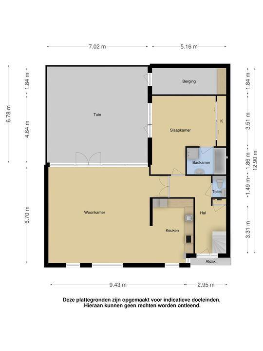 An Vellekoophof 9, Voorburg floorplan-2