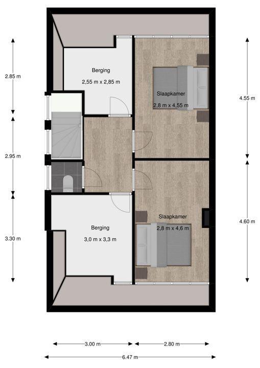 Park Vronesteyn 18, Voorburg floorplan-2