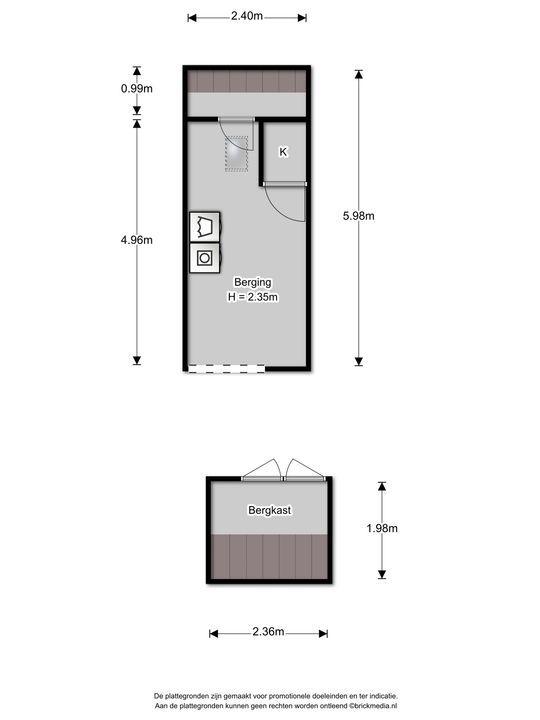 Prins Bernhardlaan 121, Voorburg floorplan-1