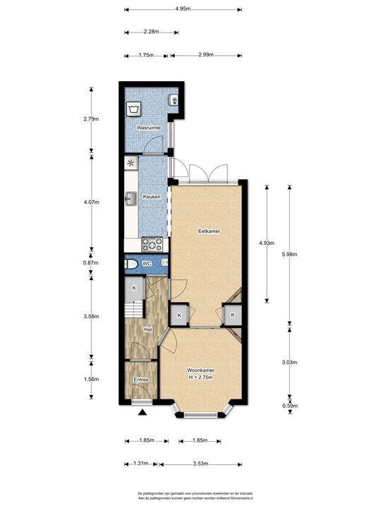 Agrippinastraat 40, Voorburg floorplan-0