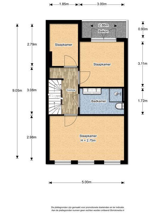 Agrippinastraat 40, Voorburg floorplan-1