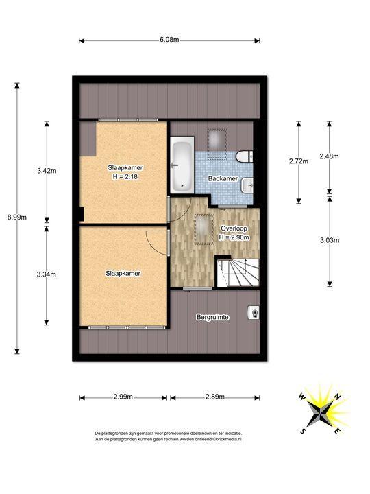 Mauvelaan 39, Leidschendam floorplan-2