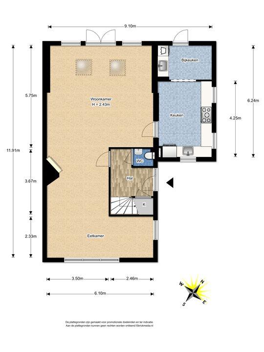 Mauvelaan 39, Leidschendam floorplan-0