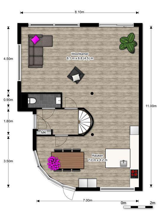 Virulylaan 2 E, Leidschendam floorplan-0