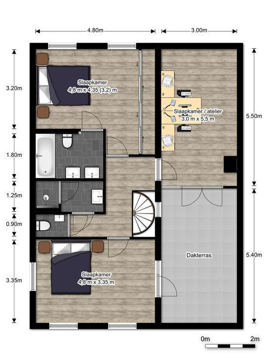 Virulylaan 2 E, Leidschendam floorplan-1