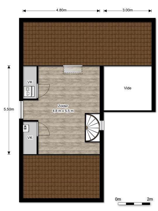Virulylaan 2 E, Leidschendam floorplan-2
