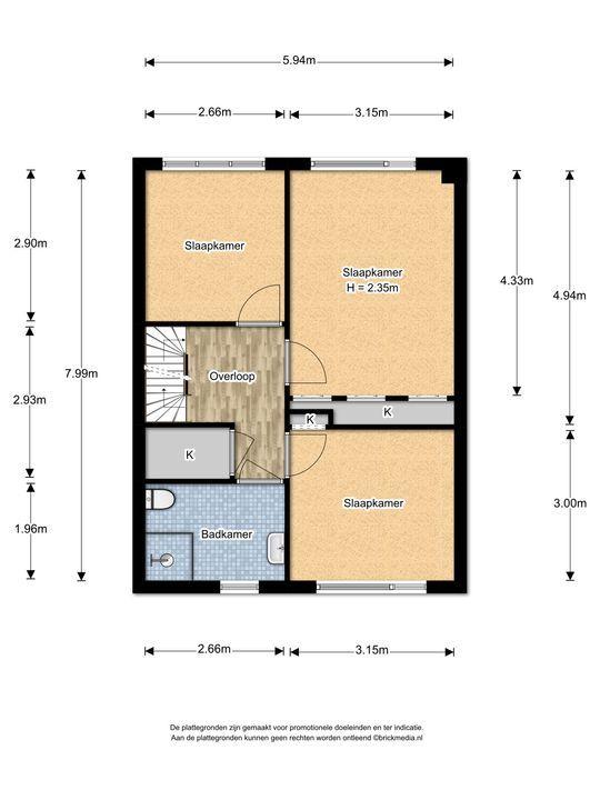 Graaf Adolflaan 9, Leidschendam floorplan-1