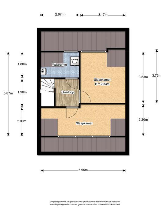 Graaf Adolflaan 9, Leidschendam floorplan-2