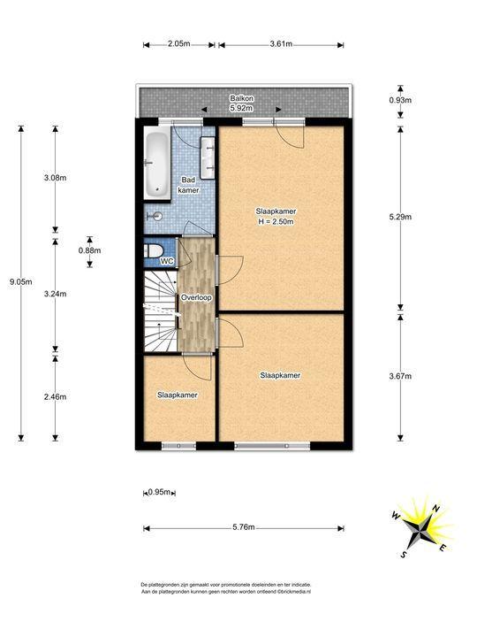 Veursestraatweg 37, Leidschendam floorplan-1