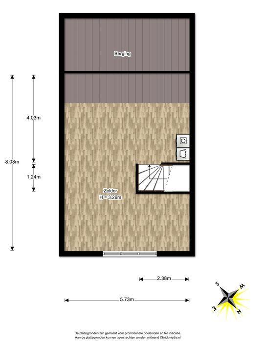 Berkelstroom 115, Zoetermeer floorplan-2
