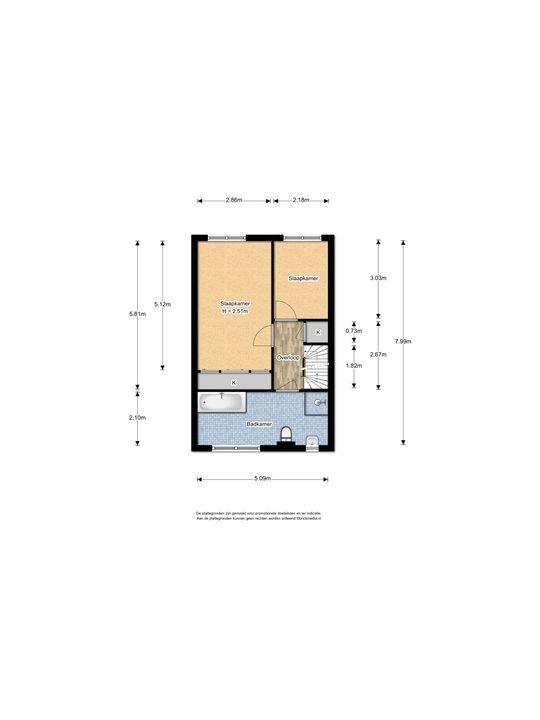 Hendrik van Randwijkstraat 7, Leidschendam floorplan-1