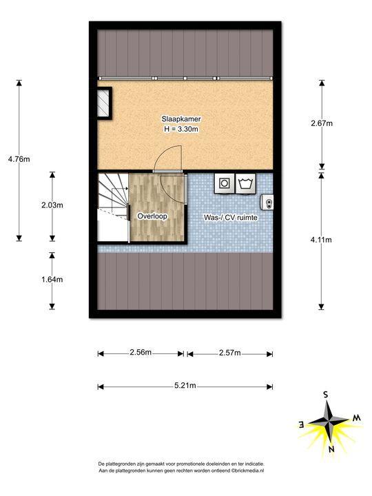 de Oude Bleijk 221, Leidschendam floorplan-2