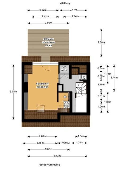 Laan van Nieuw Oosteinde 374, Voorburg floorplan-3