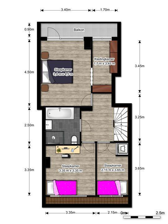 van Faukenbergestraat 138, Voorburg floorplan-1
