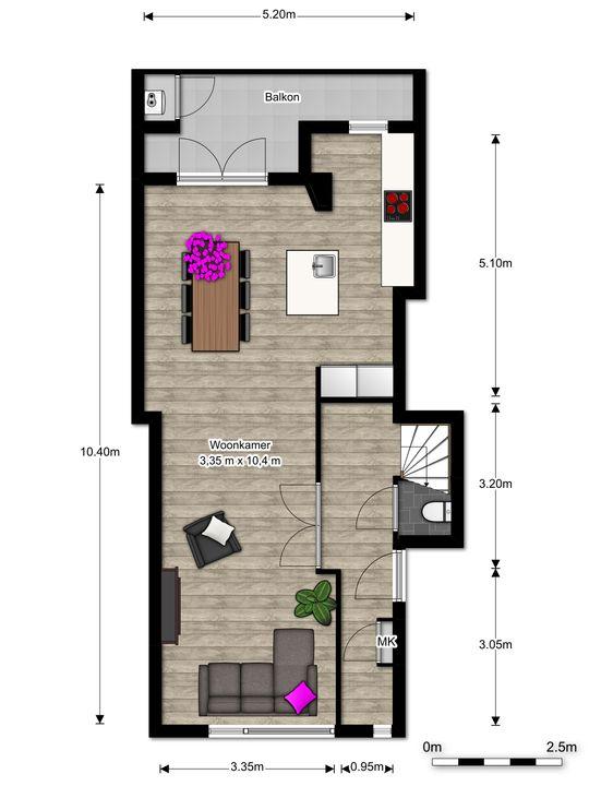 van Faukenbergestraat 138, Voorburg floorplan-0