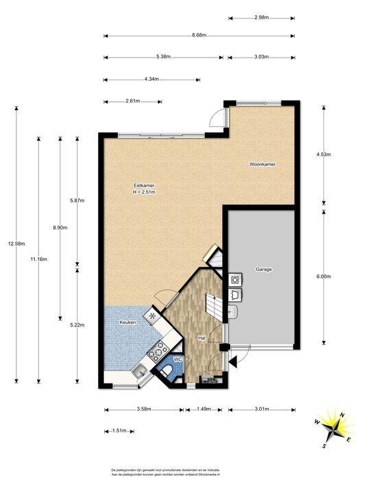 Penningkruid 1, Nootdorp floorplan-0