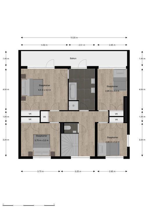 de Tol 2, Leidschendam floorplan-1