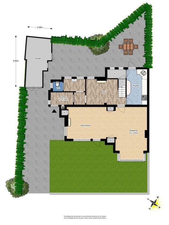 Den Burghstraat 12, Voorburg floorplan-4