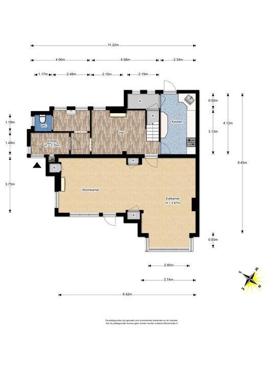 Den Burghstraat 12, Voorburg floorplan-0