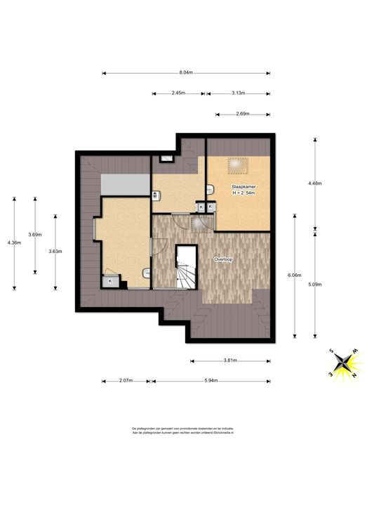 Den Burghstraat 12, Voorburg floorplan-2