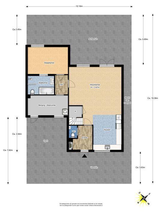 Rijstkamp 22, Den Haag floorplan-2