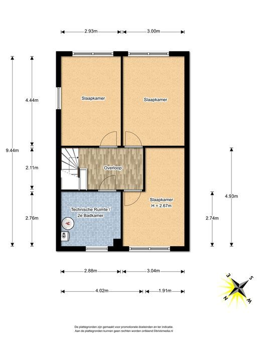 Rijstkamp 22, Den Haag floorplan-1