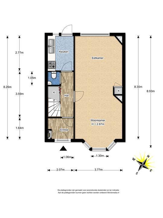 Waalhofflaan 3, Voorburg floorplan-0