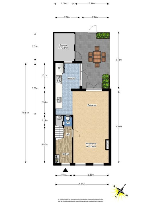 Willemstraat 14, Voorburg floorplan-0