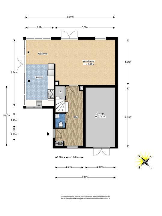 Watermolensingel 18, Leidschendam floorplan-0