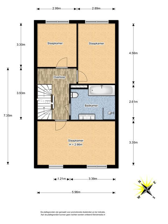 Watermolensingel 18, Leidschendam floorplan-1