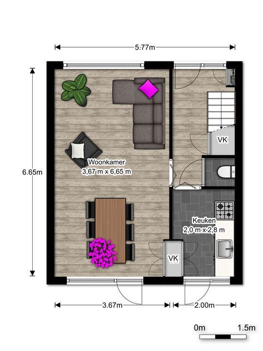 Nicolaas Beetslaan 26, Voorburg floorplan-0