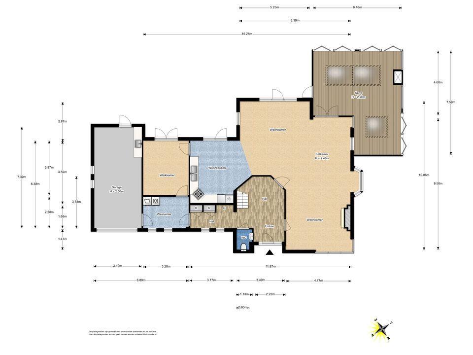 De Stelling 1, Leidschendam floorplan-0